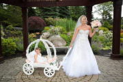 Large Angel Carriage in White