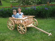 Extra Large Pumpkin Wagon, Unfinished