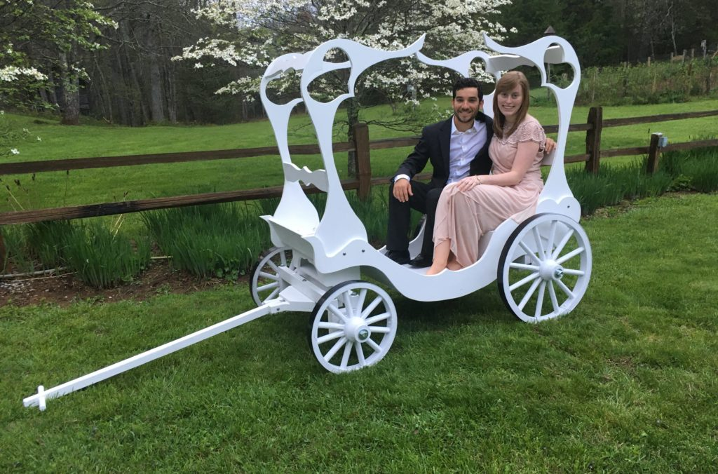 Adult Cinderella Carriage