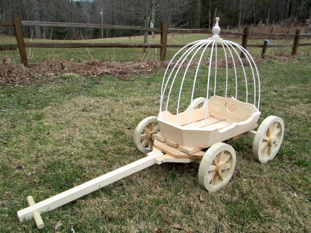 Angel Carriages | Mini Wedding Wagons