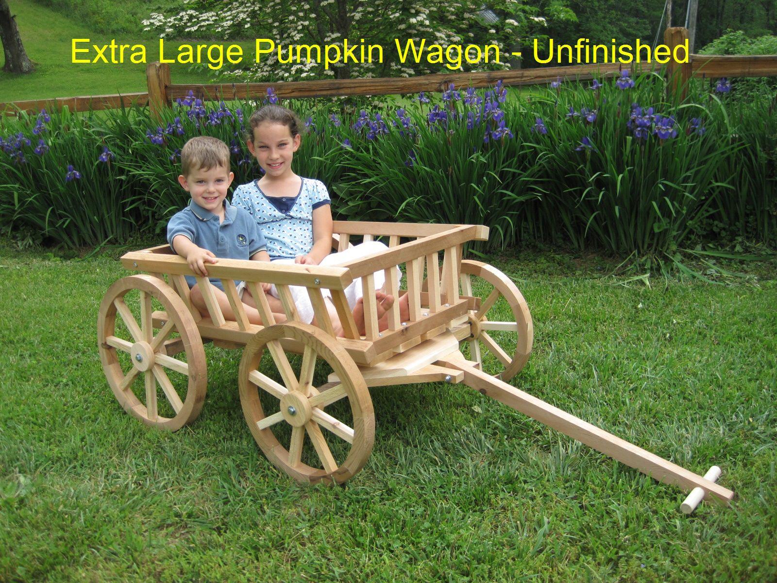 Extra Large Flower Girl Wedding Wagon