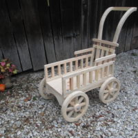 Graceful Push Carriage- unfinished & paint ready 004