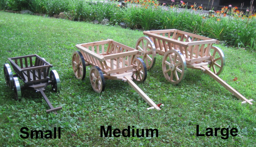 Pumpkin Wagon Sizes